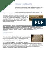 Cultura Mesopotámica y Civilización Mesopotámica