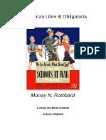 Murray Rothbard - Enseñanza libre y obligatoria.pdf