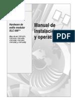 SLC-500 Manua de Instalacion y Operacion