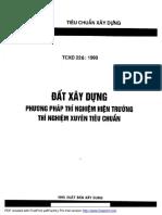 TCXD 226-1999 - Dat XD, PP thi nghiem hien truong, thi nghiem xuyen tieu chuan.pdf