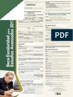 Beca Estudios Avanzados Convocatoria 2017-B