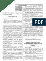 RCD SUNEDU - Reglamento de Denuncias