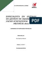 Convenios Ratificados Por Bolivia
