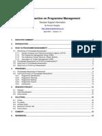 Program Management Study