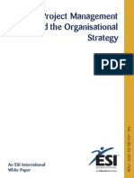 Project Management and Organisational Strategy