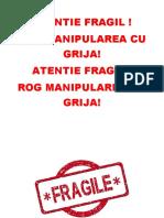 Atentie Fragil