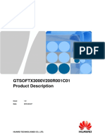 Railway Operational Communication Solution GTSOFTX3000V200R001C01 Product Description V1.0(20130311)