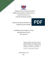 PROGRAMAÇÃO DE UNIDADES E DESPACHO ECONÔMICO