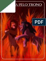 8 Banners a1 Perfilado - Lona - Rei Leão