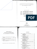 An Introdcution to Differential Algebra
