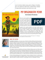 My Brigadista Year by Katherine Paterson Author's Note