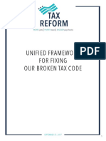 Unified Tax Framework FromThe Trump Administration, the House Committee on Ways and Means, and the Senate Committee on Finance