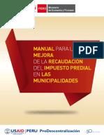 Manual para la mejora de la recaudación del impuesto predial de las municipalidades.pdf