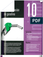 sistema de alimentación de gasolina
