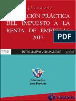 Aplicación práctica del Impuesto a la Renta de Empresas 2017.pdf