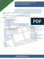 LEI -3 Day Course-Thorough Examination