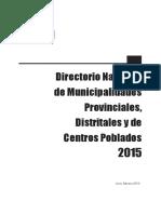 INEI - Directorio Nacional de Municipalidades.pdf