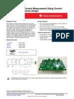 AC current sensing design