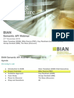 BIAN API Webinar Slides Final 11-20-2016