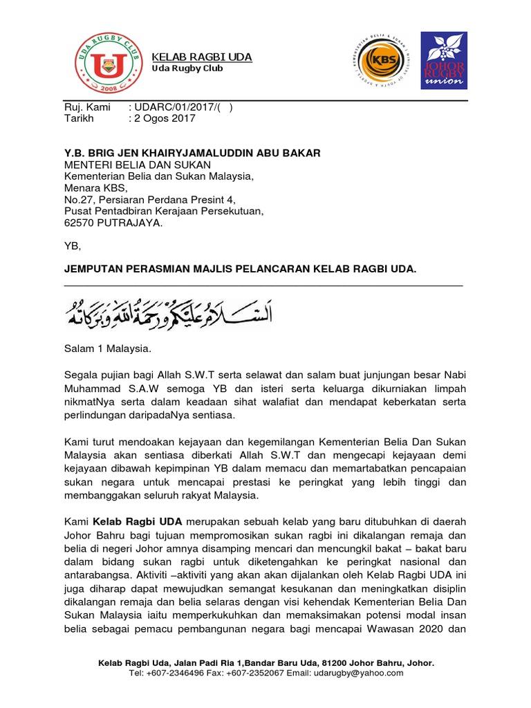 Surat Jemputan Kj