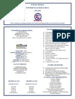 pvhs school profile 2017-2018