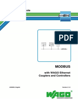 a300003_en - Modbus with WAGO Ethernet Couplers and