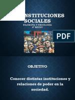 Ética Social - Instituciones