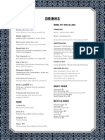 R&G Dinner Menu 092617