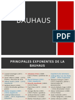 Exponentes BAUHAUS