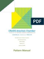 Anechoic Chamber Pattern Manual