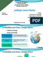 Presentación Tema 1. La Hidrología Como Ciencia