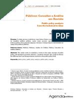 Políticas Públicas - Conceitos e Análise em Revisão