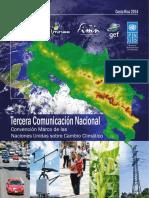 Tercera Comunicacion Nacional Convencion Climatico LNCFIL20141124 0001