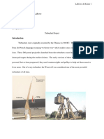 physics trebuchet project