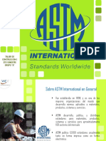 ASTM Internacional Exposicion