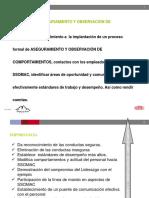 Inducción Auditorías Comportamentales