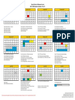 Revised Manatee County school calendar