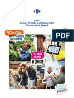 Carrefour - 2016 Annual Activity and Responsible Commitment Report