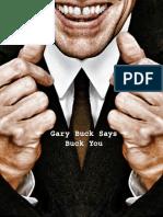 Gerry Buck Says Buck You
