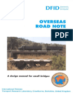 Design Manual TRL for Small Bridges ORN9