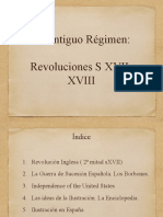 Revoluciones s XVII-XVIII