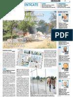 Incendio via Quarti Il GIorno
