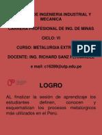 Introduccion a La Metalurgia Sesion 1