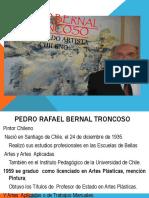 Pedro Bernal Troncoso Destacado Artista Chileno