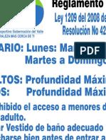 Club de La Gobernacion Reglamento de La Piscina