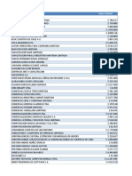 Listado de Proveedores EPSA