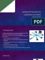 Interceptacion de Comunicaciones