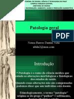 1. Introdução a Patologia Geral