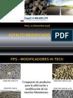 asfalto modificado con PPS