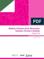 Marco de Referencia Ciencias de La Educacion - Ensenar Formar Evaluar v2